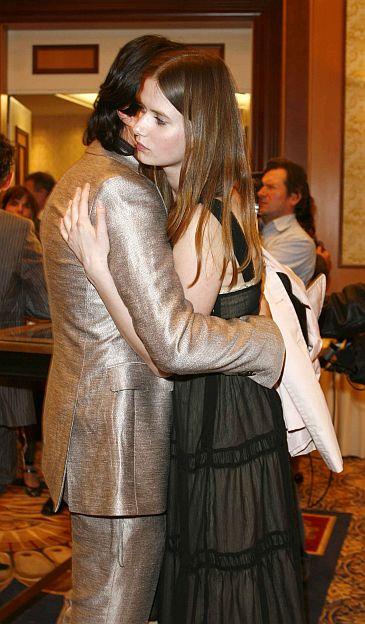 Olivier Janiak z żoną (zdjęcia)