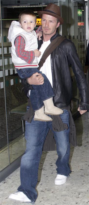 Synowie Beckhama. PODOBNI?