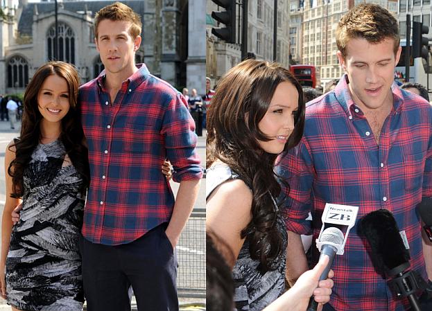 Sobowtóry Williama i Kate promują film (ZDJĘCIA)